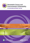 Renewable Energy and Environmental Sustainability Cover page